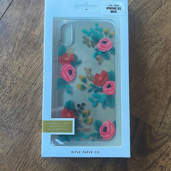 Rifle Paper Co. IPhone XS Max Case